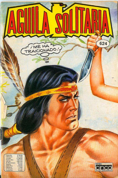 Cover for Aguila Solitaria (Editora Cinco, 1976 ? series) #624