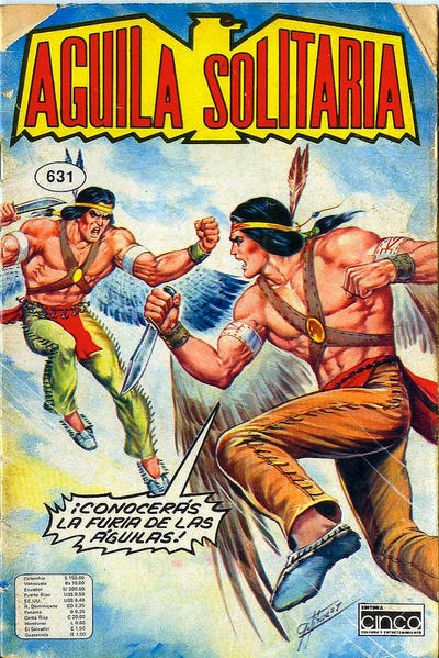 Cover for Aguila Solitaria (Editora Cinco, 1976 ? series) #631