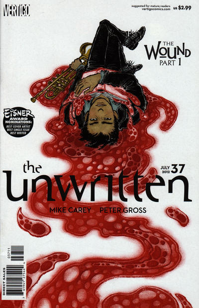 Cover for The Unwritten (DC, 2009 series) #37