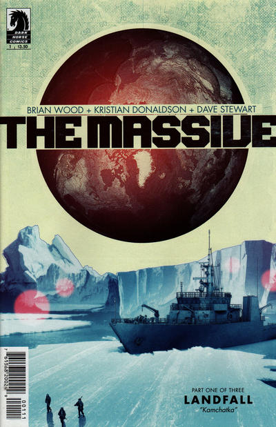 Cover for The Massive (2012 series) #1 [Rafael Grampá cover]