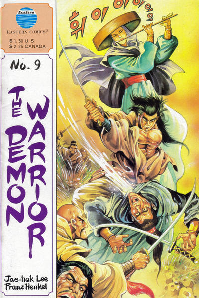 Cover for The Demon Warrior (Eastern Comics, 1987 series) #9