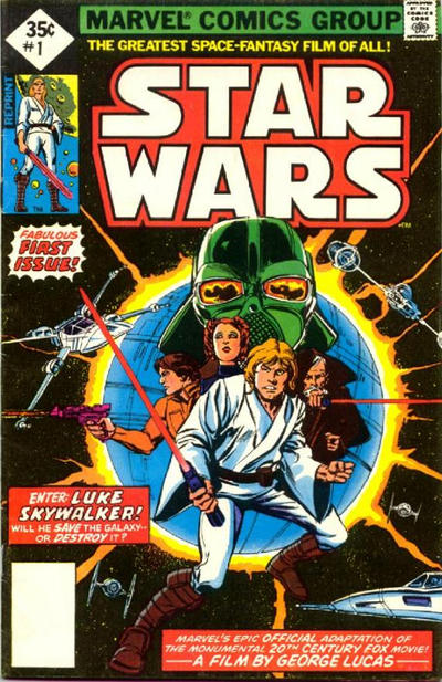 Cover for Star Wars (Marvel, 1977 series) #1 [30 cent cover]