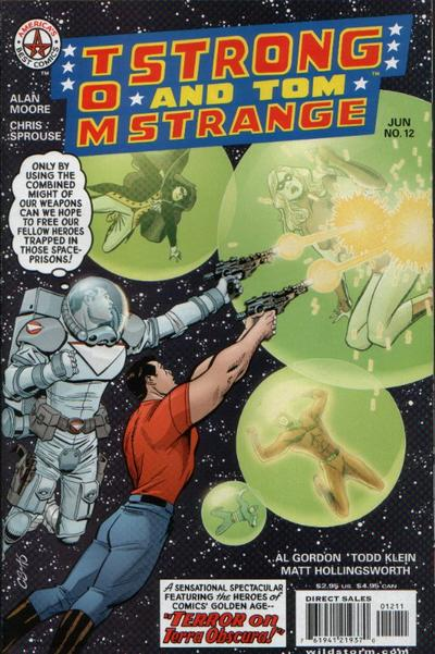 Cover for Tom Strong (1999 series) #12