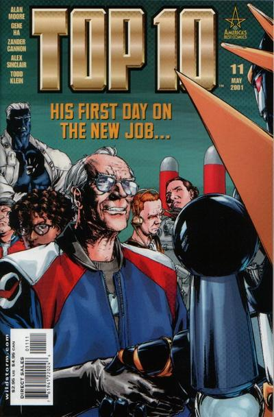 Cover for Top 10 (DC, 1999 series) #11