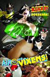 Cover for Airboy Presents Air Vixens (Moonstone, 2011 series) #1