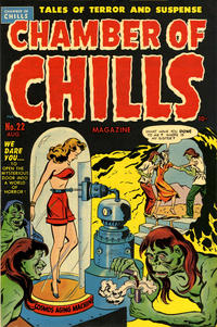Cover Thumbnail for Chamber of Chills Magazine (Harvey, 1951 series) #22 [2]