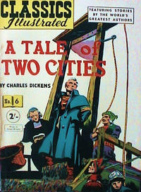 Cover Thumbnail for Classics Illustrated (Thorpe & Porter, 1951 series) #6 [HRN 77-16T] [Price difference]