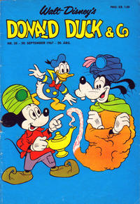 Cover Thumbnail for Donald Duck & Co (Hjemmet, 1948 series) #38/1967