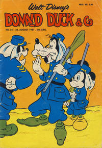 Cover Thumbnail for Donald Duck & Co (Hjemmet / Egmont, 1948 series) #34/1967