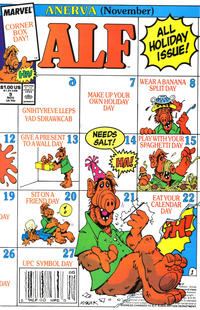 Cover Thumbnail for ALF (Marvel, 1988 series) #9 [Direct]
