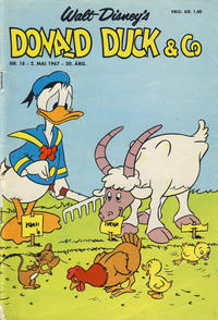 Cover Thumbnail for Donald Duck & Co (Hjemmet, 1948 series) #18/1967