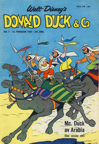 Cover Thumbnail for Donald Duck & Co (Hjemmet, 1948 series) #7/1967