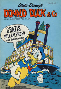 Cover Thumbnail for Donald Duck & Co (Hjemmet, 1948 series) #49/1966