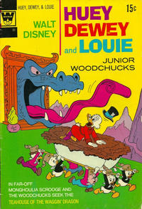 Cover Thumbnail for Walt Disney Huey, Dewey and Louie Junior Woodchucks (Western, 1966 series) #19 [Whitman Variant]