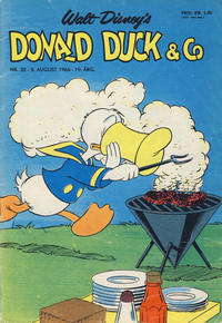 Cover Thumbnail for Donald Duck & Co (Hjemmet, 1948 series) #32/1966