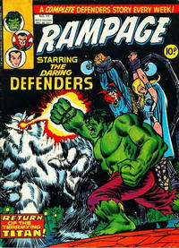 Cover Thumbnail for Rampage (Marvel UK, 1977 series) #11
