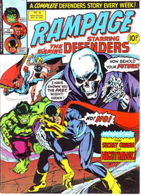 Cover Thumbnail for Rampage (Marvel UK, 1977 series) #32