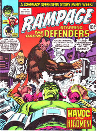 Cover Thumbnail for Rampage (Marvel UK, 1977 series) #33