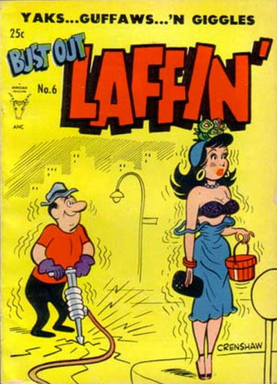 Cover for Bust Out Laffin&#39; (1954 series) #6