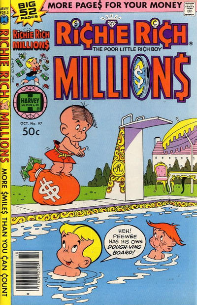 Cover for Richie Rich Millions (Harvey, 1961 series) #97