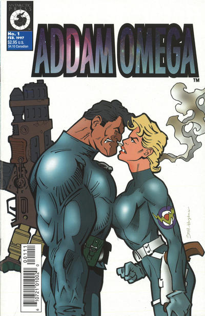 Cover for Addam Omega (Antarctic Press, 1997 series) #1