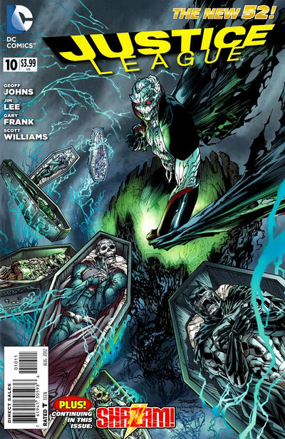 Cover for Justice League (DC, 2011 series) #10