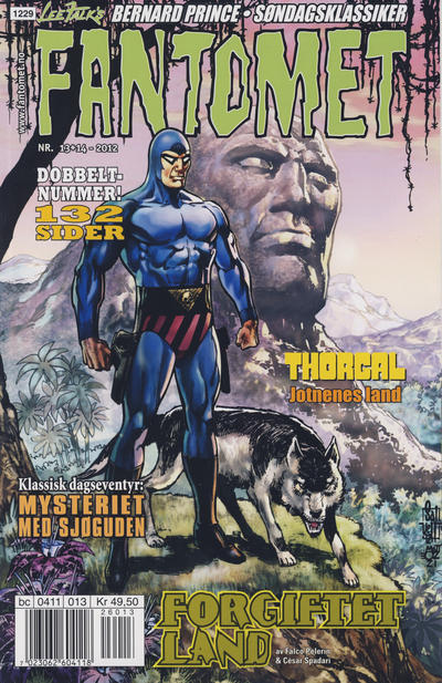 Cover for Fantomet (Egmont Serieforlaget, 1998 series) #13-14/2012