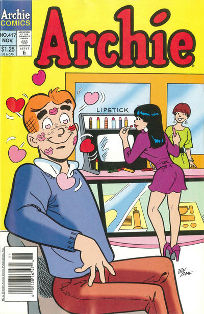 Cover for Archie (Archie, 1959 series) #417