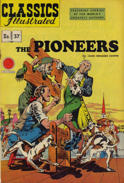 Cover for Classics Illustrated (1947 series) #37 [HRN 62] [Red Price Circle]