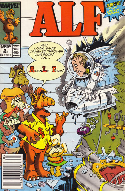 Cover for ALF (Marvel, 1988 series) #3 [Direct]