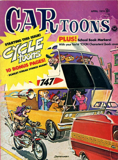 Cover for CARtoons (Petersen Publishing, 1961 series) #76