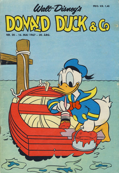 Cover for Donald Duck & Co (1948 series) #20/1967