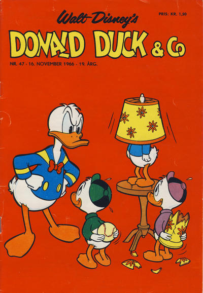 Cover for Donald Duck & Co (Hjemmet, 1948 series) #47/1966