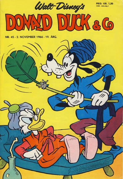 Cover for Donald Duck & Co (Hjemmet, 1948 series) #45/1966