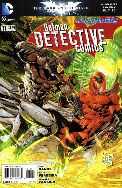 Cover for Detective Comics (DC, 2011 series) #11