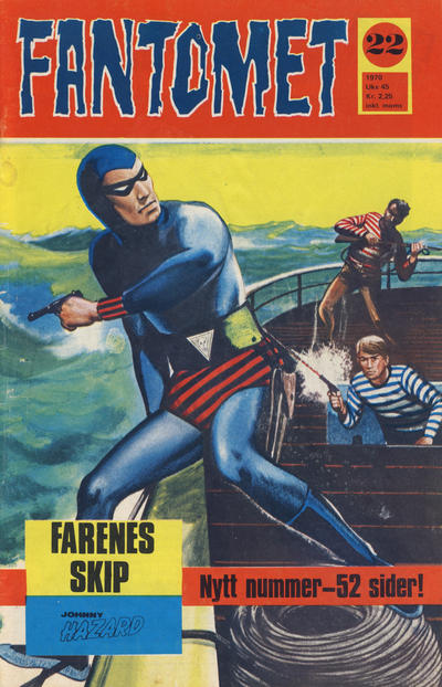 Cover for Fantomet (Romanforlaget, 1966 series) #22/1970