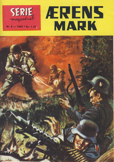 Cover for Seriemagasinet (1955 series) #8/1965