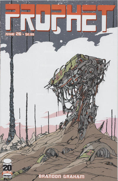 Cover for Prophet (Image, 2012 series) #26