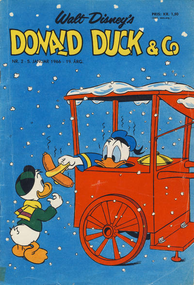 Cover for Donald Duck & Co (1948 series) #2/1966