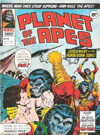 Cover Thumbnail for Planet of the Apes (Marvel UK, 1974 series) #76