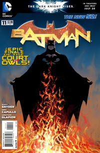 Cover Thumbnail for Batman (DC, 2011 series) #11 [Greg Capullo Cover]