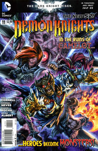 Cover Thumbnail for Demon Knights (DC, 2011 series) #11
