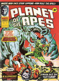 Cover Thumbnail for Planet of the Apes (Marvel UK, 1974 series) #21