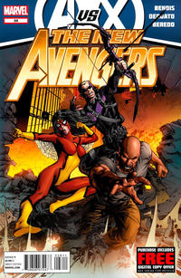 Cover Thumbnail for New Avengers (Marvel, 2010 series) #28