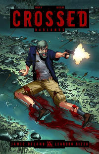 Cover Thumbnail for Crossed Badlands (Avatar Press, 2012 series) #8 [Regular Cover - Jacen Burrows]
