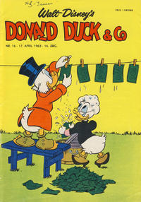 Cover Thumbnail for Donald Duck & Co (Hjemmet, 1948 series) #16/1963