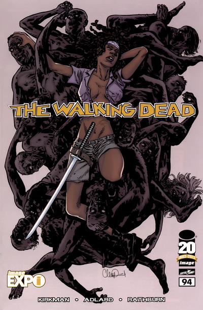 Cover for The Walking Dead (Image, 2003 series) #94 [Image Expo variant]