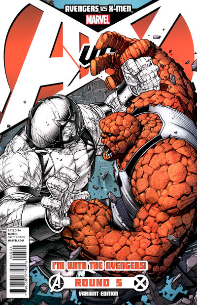 Cover for Avengers vs. X-Men (Marvel, 2012 series) #5 [Variant Cover by Ryan Stegman]