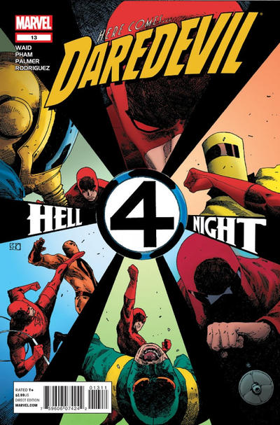 Cover for Daredevil (Marvel, 2011 series) #13 [Direct Edition]