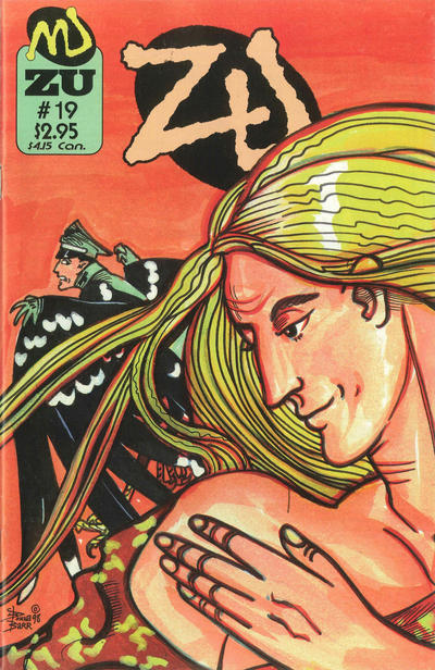 Cover for ZU (MU Press, 1995 series) #19